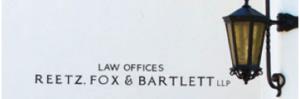 Reetz Fox Bartlett sign